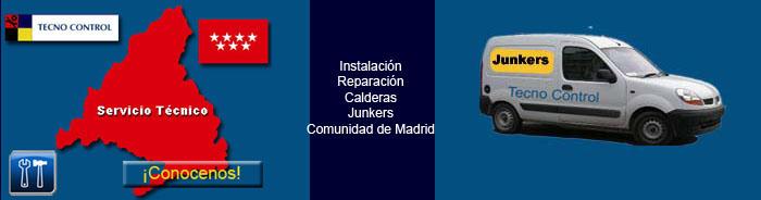 Servicio t cnico junkers madrid for Tecnico calderas madrid